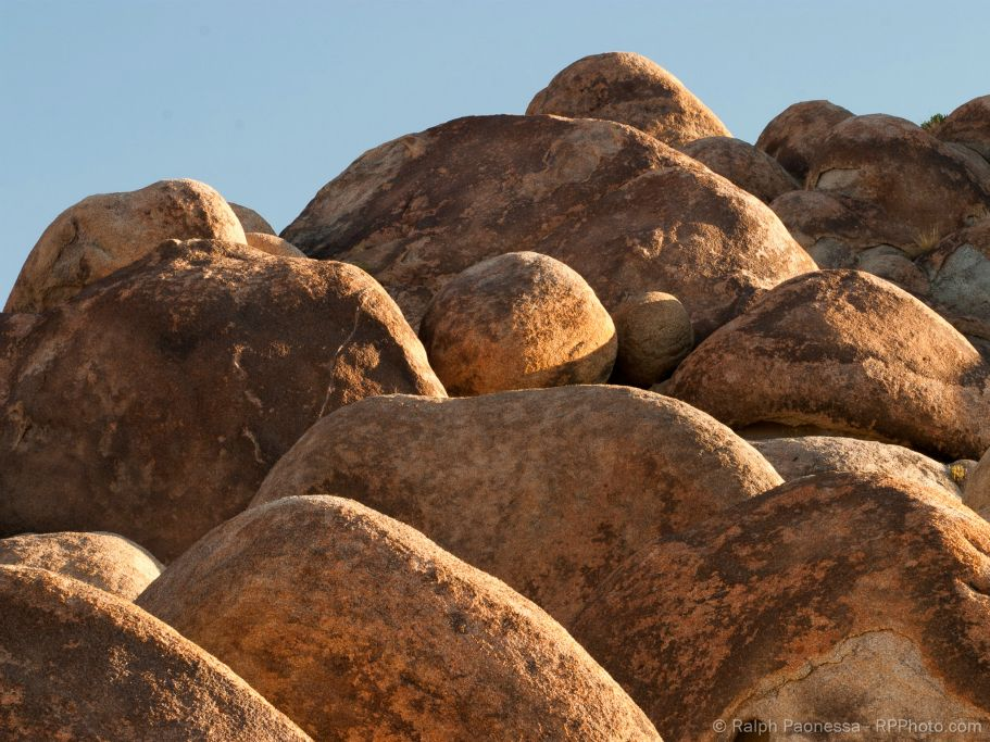Weathered Boulders in the Alabama Hills