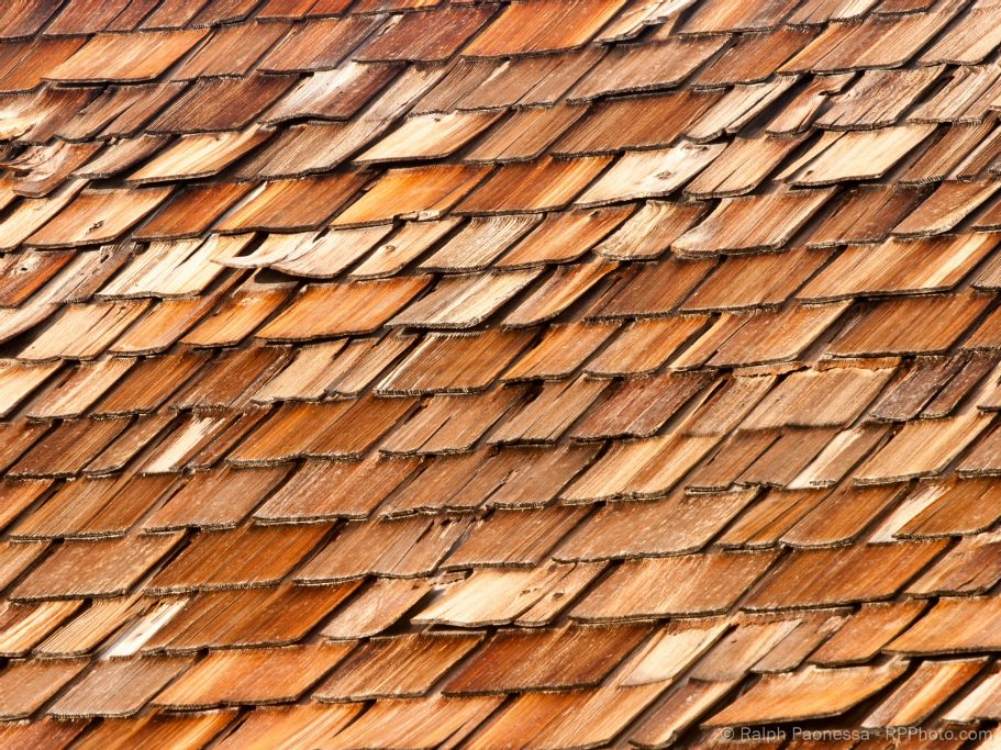Old Wooden Shingles in Bodie Ghost Town