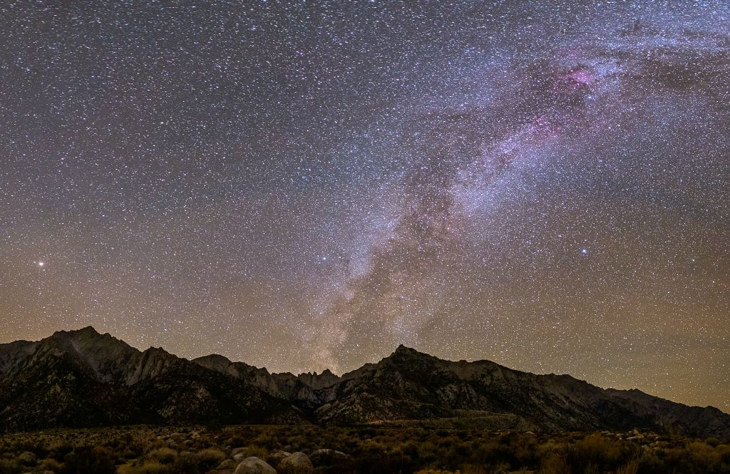 Milky Way over Mt. Whitney